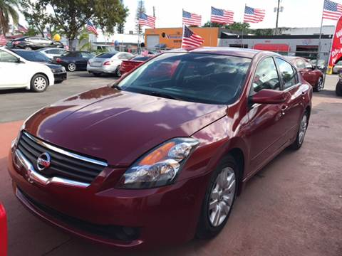 2009 Nissan Altima for sale in Hollywood, FL