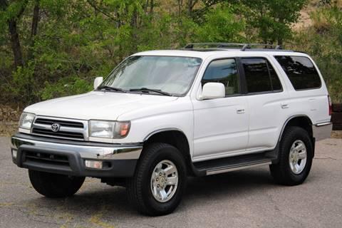 Nice 1999 Toyota 4Runner For Sale In Denver, CO