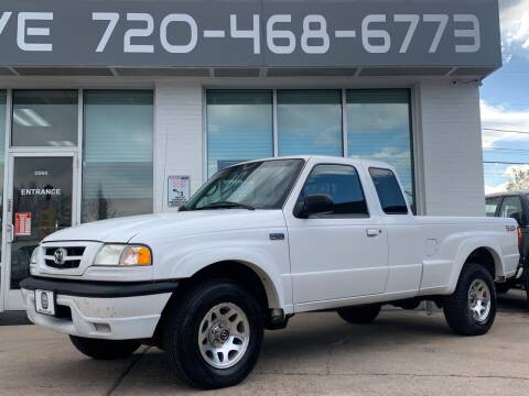 2004 Mazda B-Series Truck for sale at Shift Automotive in Denver CO