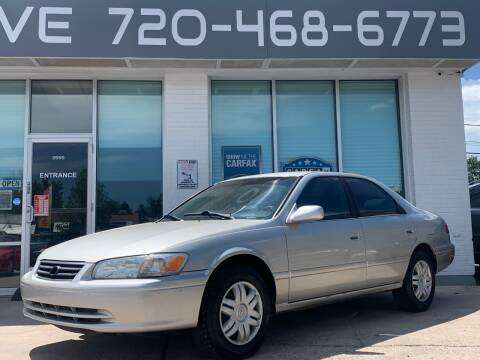 2001 Toyota Camry for sale at Shift Automotive in Denver CO
