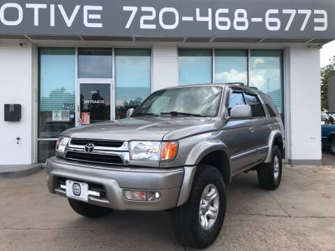 2001 Toyota 4Runner for sale at Shift Automotive in Denver CO