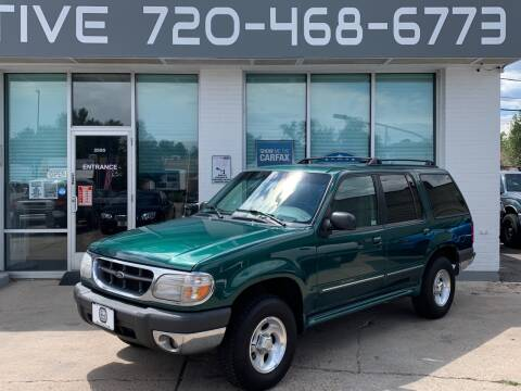 1999 Ford Explorer for sale at Shift Automotive in Denver CO