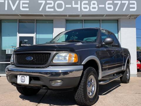 2002 Ford F-150 for sale at Shift Automotive in Denver CO