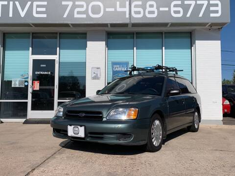 2000 Subaru Legacy for sale at Shift Automotive in Denver CO