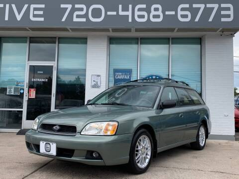 2003 Subaru Legacy for sale at Shift Automotive in Denver CO