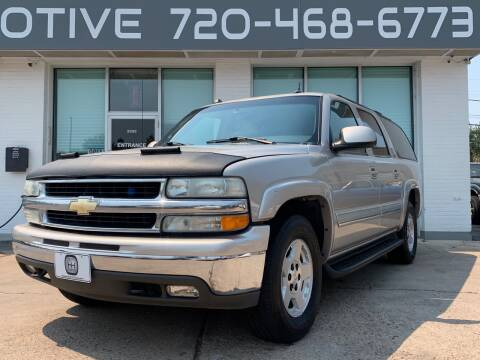 2004 Chevrolet Suburban for sale at Shift Automotive in Denver CO