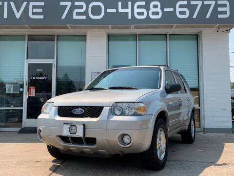 2007 Ford Escape for sale at Shift Automotive in Denver CO