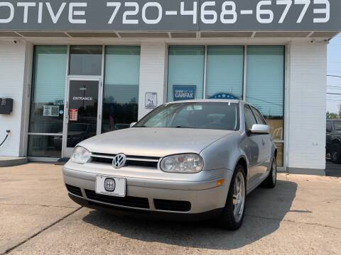 2005 Volkswagen Golf for sale at Shift Automotive in Denver CO