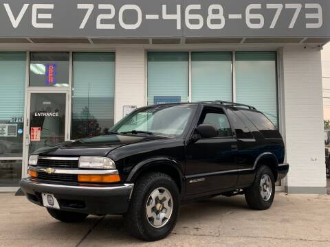 1999 Chevrolet Blazer for sale at Shift Automotive in Denver CO
