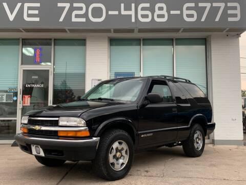 1999 Chevrolet Blazer for sale at Shift Automotive in Denver CO