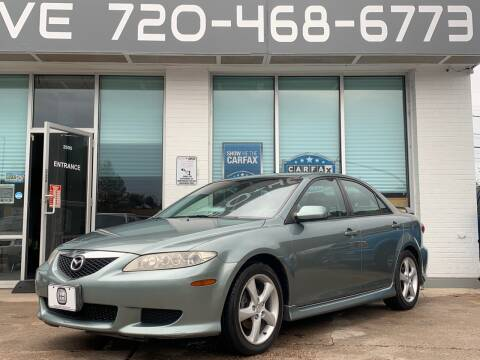 2004 Mazda MAZDA6 for sale at Shift Automotive in Denver CO