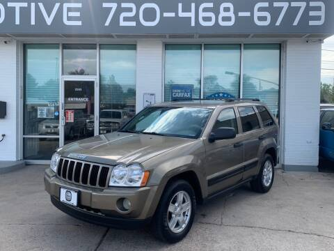 2006 Jeep Grand Cherokee for sale at Shift Automotive in Denver CO