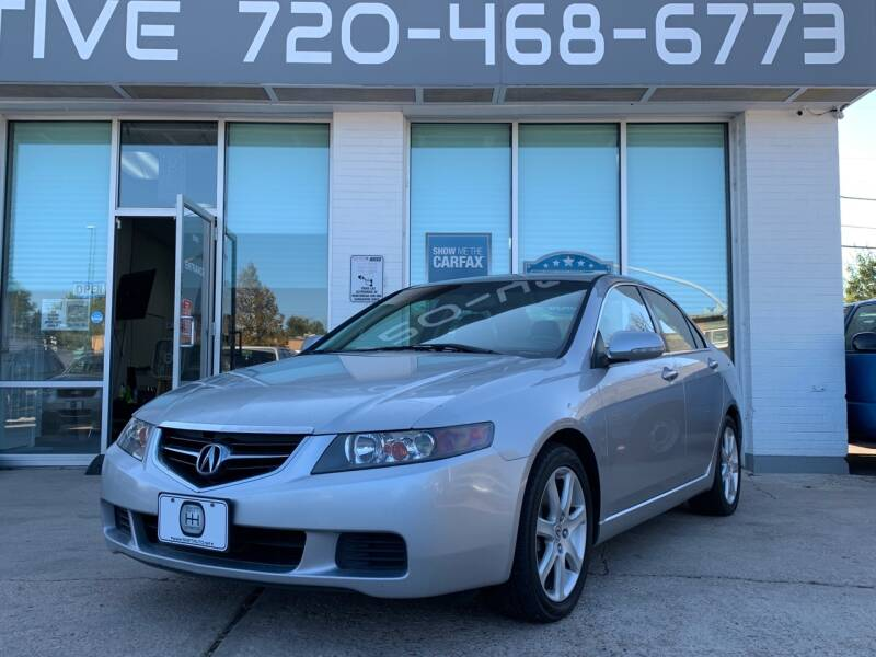 2004 Acura TSX for sale at Shift Automotive in Denver CO