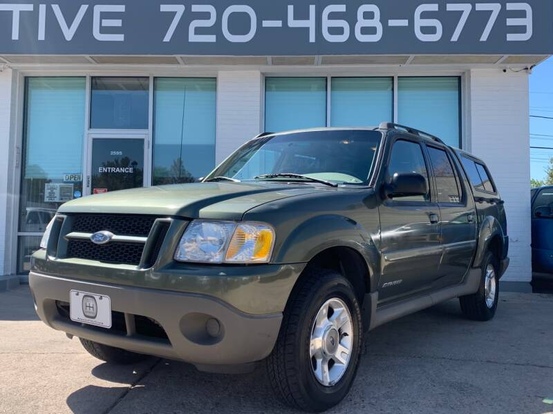 2001 Ford Explorer Sport Trac for sale at Shift Automotive in Denver CO