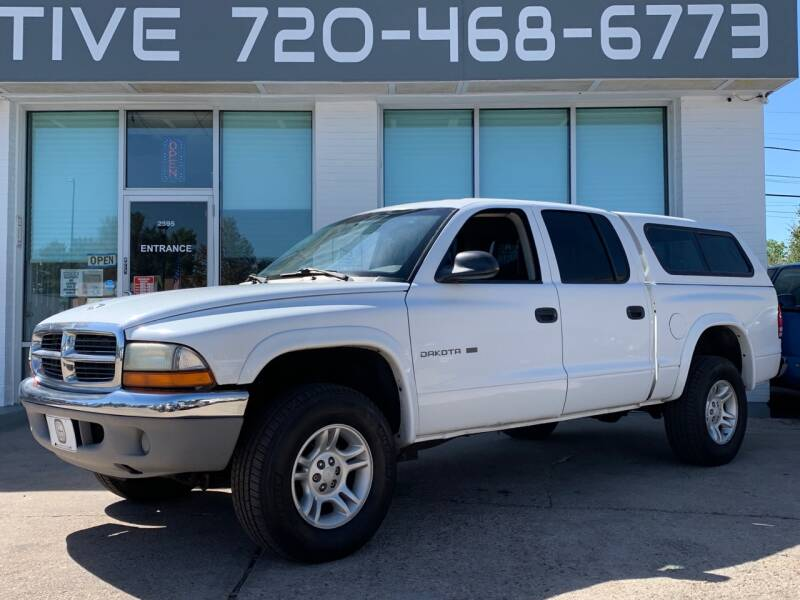 2001 Dodge Dakota for sale at Shift Automotive in Denver CO