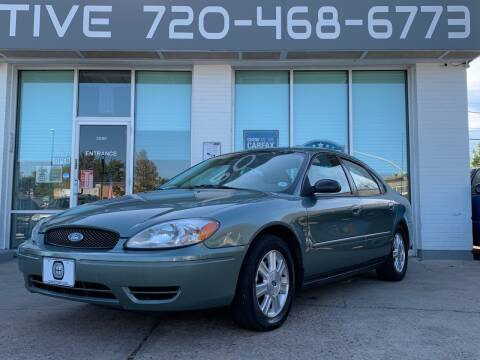 2005 Ford Taurus for sale at Shift Automotive in Denver CO