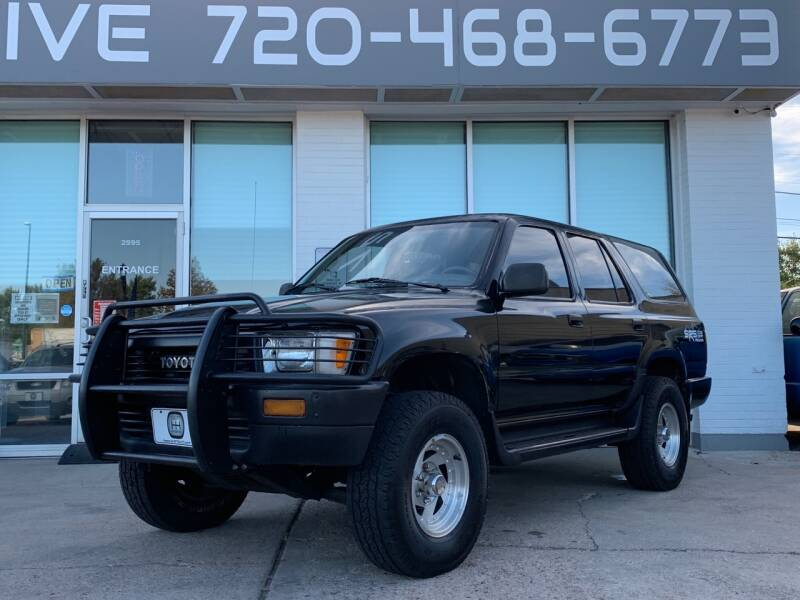 1991 Toyota 4Runner for sale at Shift Automotive in Denver CO