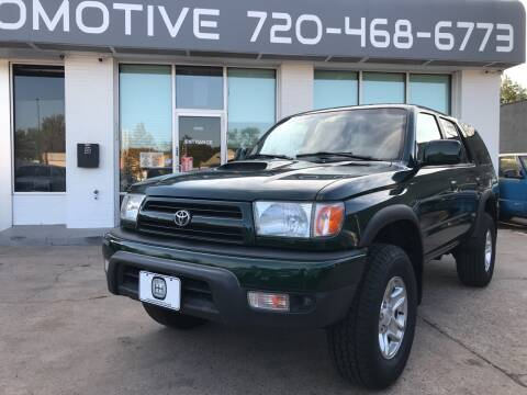 1999 Toyota 4Runner for sale at Shift Automotive in Denver CO