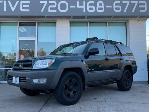 2003 Toyota 4Runner for sale at Shift Automotive in Denver CO