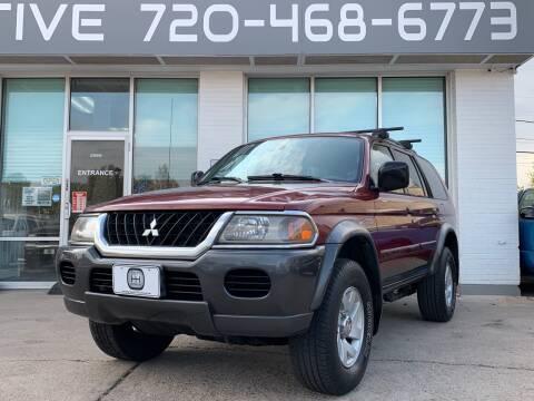 2002 Mitsubishi Montero Sport for sale at Shift Automotive in Denver CO