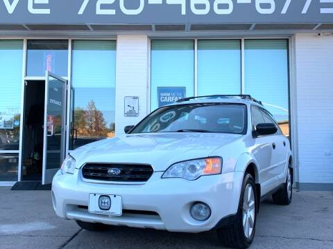 2007 Subaru Outback for sale at Shift Automotive in Denver CO