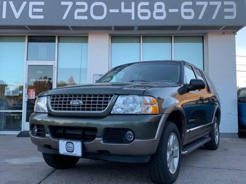2004 Ford Explorer for sale at Shift Automotive in Denver CO