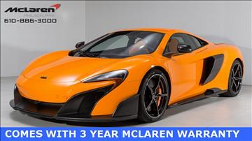 2016 McLaren 675LT for sale in West Chester, PA
