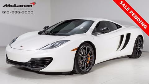 2012 McLaren MP4-12C for sale in West Chester, PA