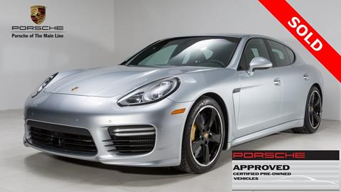 2016 Porsche Panamera for sale in West Chester, PA