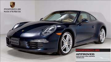 2012 porsche 911 for sale in west chester pa