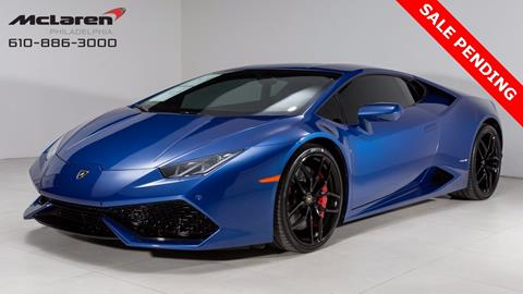 2015 Lamborghini Huracan for sale in West Chester, PA