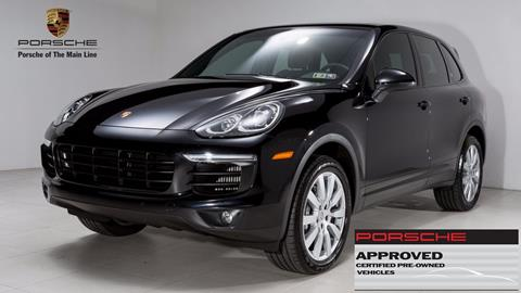 2015 Porsche Cayenne for sale in West Chester, PA