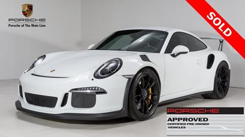 2016 Porsche 911 for sale in West Chester, PA