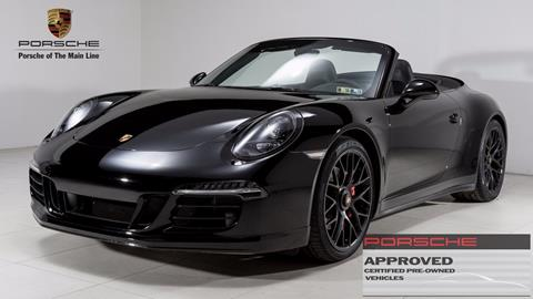 2015 Porsche 911 for sale in West Chester, PA