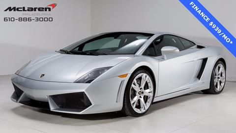 2009 Lamborghini Gallardo for sale in West Chester, PA