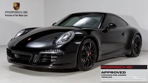 2015 porsche 911 for sale in west chester pa