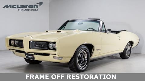 1968 Pontiac GTO for sale in West Chester, PA
