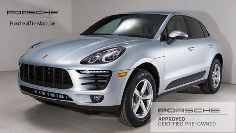 2018 Porsche Macan for sale in West Chester, PA