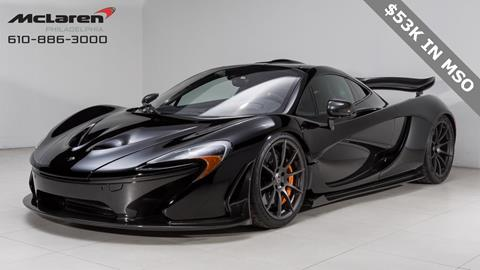Mclaren For Sale >> 2014 Mclaren P1 For Sale In West Chester Pa