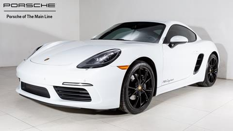 2018 Porsche 718 Cayman for sale in West Chester, PA