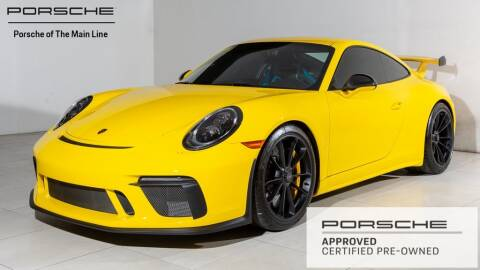 2018 Porsche 911 for sale in West Chester, PA