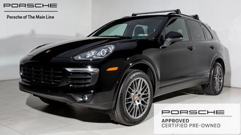 2017 Porsche Cayenne for sale in West Chester, PA