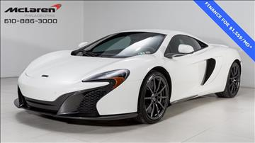 2015 McLaren 650S Coupe
