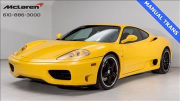 1999 Ferrari 360 Challenge Stradale