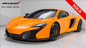 2016 McLaren 650S Spider for sale in West Chester, PA