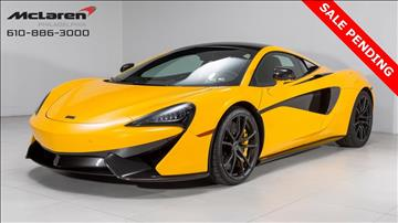 2017 McLaren 570S Coupe for sale in West Chester, PA