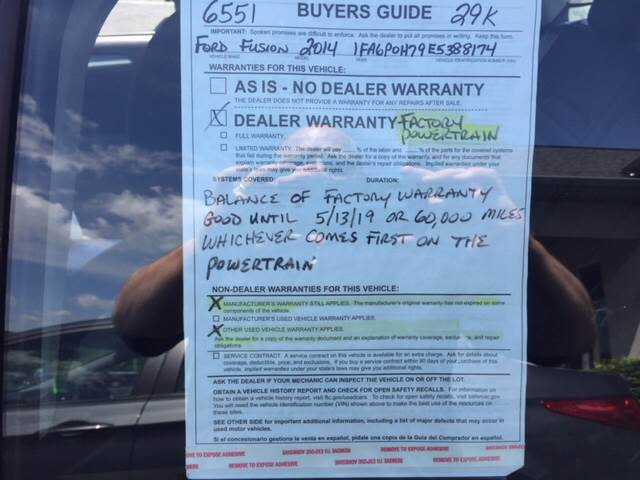 2014 Ford Fusion SE 4dr Sedan - Brodheadsville PA