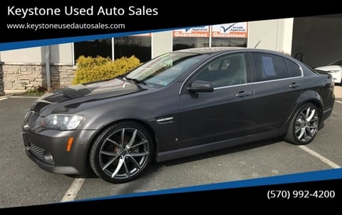 2009 Pontiac G8 for sale in Brodheadsville, PA