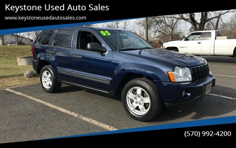 2005 Jeep Grand Cherokee for sale at Keystone Used Auto Sales in Brodheadsville PA