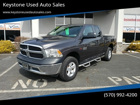 2015 RAM Ram Pickup 1500 for sale at Keystone Used Auto Sales in Brodheadsville PA